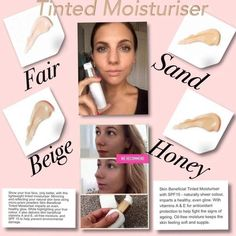 Love our moisturiser, use to wear bare minerals no thanks love nuskin X Tinted Moisturizer, Moisturiser, No Make Up Make Up Look, Lip Wrinkles, Beauty Balm, Wrinkle Remover, Color Correction, Best Makeup Products, Skin Products