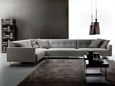Corner sectional sofa ROSS by Ditre Italia | design Stefano Spessotto, Lorella Agnoletto