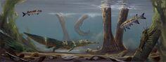 Douglas Henderson Phytosaur in the triassic period