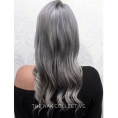 A gorgeous colour result from NAK salon @corieshairescape using #luxurycolour. 1/3 10.01 + 1/3 Light Grey + 1/3 Silver. 1:1 with 5 vol. #colour #hairstyles #hair #hairtrends #hairinspo #theNAKcollective #NAKhair
