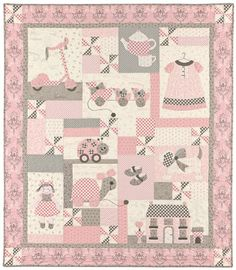 Sugar & Spice pattern by Bunny Hill Designs. LOVE!