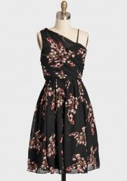 delicate blossom floral dress MM Couture