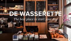 De Wasserette - Great brunch spot with a delicious beef burger on the menu.