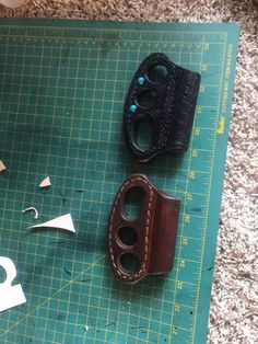 Leather Diy Crafts, Leather Projects, Leather Craft, Tool Roll Bag, Iphone Holster, Lighter Case, Brass Knuckles, Patriotic Outfit, Leather Carving