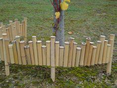 Bordure en bambou