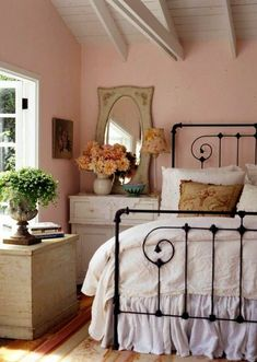 Urban Cottage Girl Decor - Charming Bedroom