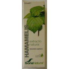 Extracto de Hamamelis de Soria Natural es un complemento alimenticio que actúa sobre el sistema circulatorio.