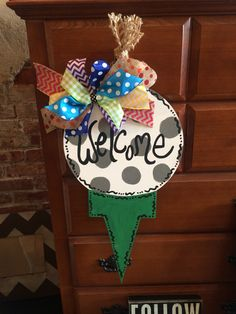 "24"" Golf Door Hanger"
