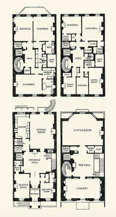 Vincent Astor townhouse, 130 E. 80th Street, New York City. Architect: Mott B. Schmidt, 1926.
