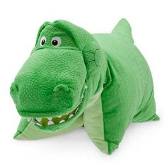 Your WDW Store - Disney Pillow Pet - Rex Toy Story Dinosaur Reverse Pillow Plush