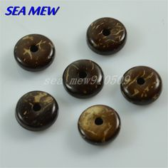 Natural coconut shell bead 8mm/10mm/12mm/14mm/16mm spacer bead round spacer bead diy jewelry accessories 200PCS(China (Mainland))