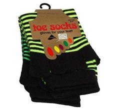 YoWhee Zehensocken Neon Farben  -  Grün yotoegreen Toe Socks, Yoga, Neon, Gloves, Fashion, Colors, Moda, Fashion Styles, Neon Colors