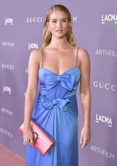 Actor Rosie Huntington-Whiteley attends the 2017 LACMA Art + Film Gala Honoring Mark Bradford and George Lucas presented by Gucci at LACMA.