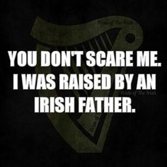 Plus an Irish Mother and I also went to Catholic School. Nothing can scare me LOLOLOLO Celtic Pride, Irish Pride, Irish Celtic, Irish Quotes, Irish Sayings, Irish American, American Women, American Art, American History
