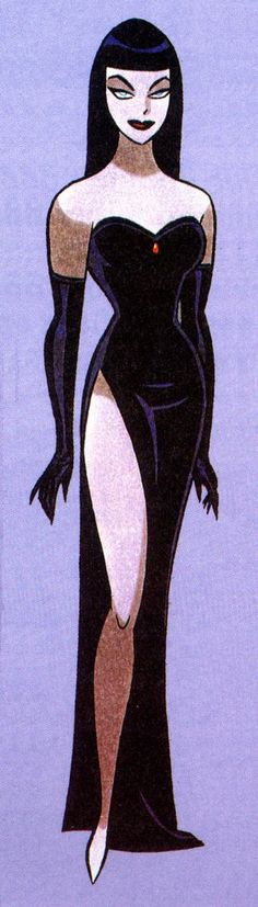 Nocturna by Bruce Timm
