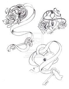 bocetos para candados