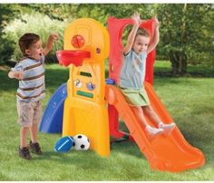 Step2 All Star Sports Climber Kids Childs Toddler Playground Slide Play Yard #Step2