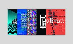 Music-themed poster designs based on styles of music #music #design #posterdesign #typography #abstract