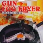 With this Gun Egg Fryer, your eggs will finish up with a bang! Spruce up plain old eggs by pouring them into this bangin' gun mold to make a breakfast to die for.