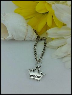 PRINCESS CROWN necklace by BLACKANDBLUSH  blackandblush.etsy.com facebook.com/blackandblushxo  Find the perfect gift for the perfect occasion, for the perfect person! Birthdays, Christmas, Bridal, Anniversary, Valentine's Day and more! Stocking stuffers!