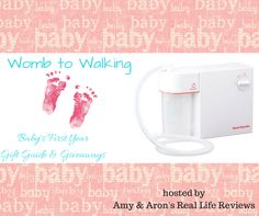 BabySmile Nasal Aspirator Giveaway - ends 4/14 http://www.craftylife.net/babysmile-nasal-aspirator-giveaway/