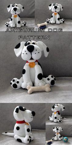 Dog Crochet Pattern Pinterest Top Pins Video Tutorial | Crochet ... | 472x236