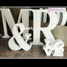 Letras armadas en PVC o acrílico.  Y el tipo de letras que desee.  #acrilico #variedad #cosmetic #display #accesorio #uña #mujer #salón #plaza #fashion #farmacia #boutique #tienda. #crema #perfumes #pintalabios #artículos #anillo. http://ameritrustshield.com/ipost/1551769027105687668/?code=BWI_bViFoh0