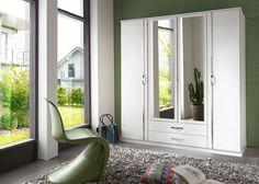 Kleiderschrank Duo 180,0 cm Alpinweiß 10450. Buy now at https://www.moebel-wohnbar.de/kleiderschrank-duo-180-0-cm-alpinweiss-10450.html