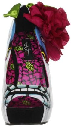 Online Shopping eXperts: Shoes[UK & Ireland]: Iron Fist Women's Ladykiller Platform Open Toe List Price: £64.95 Buy New: £26.50