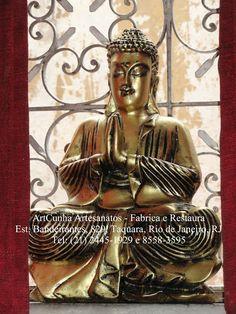 Buda 43 cm Com ou sem pintura #Buda #Budismo #Escultura #Gesso #Artesanato ArtCunha (21) 2445-1929 / 8558-3595. Est. Bandeirantes, 829, #Taquara, #Rio de Janeiro, #RJ #Buda #Budismo #Buddha #Artesanato #Gesso #ArtCunha #Arte #Artes #Decoracao #estatua #Escultura #Estatuas #Esculturas