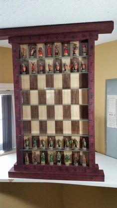 Vertical chess board.