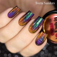 A super special nail design for super special events! Credits: Sveta Sanders