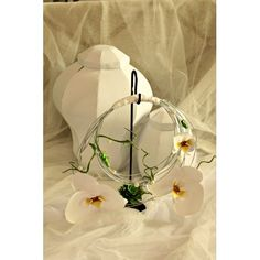 Bouquet a borsetta con orchidee e succulente. #wedding #paper flower