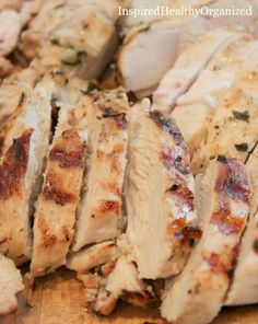 If ever there was a food I could eat every single day of my life..... Grilled Chicken.