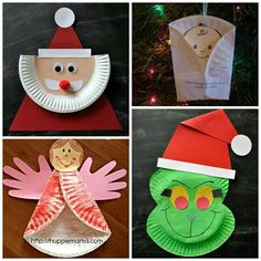 Ideas que mejoran tu vida. More information. More information. Paper plate christmas tree  sc 1 st  Pinterest & Here are my favorite christmas paper plate crafts for the kids to ...