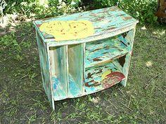 How to distress furniture via {diynetwork.com}