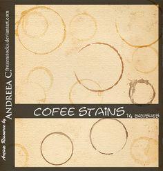 Coffee Stains by ~frozenstocks on deviantART