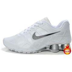 b55cd72507d Nike Shox -Turbo12 Men All White Mens Nike Shox