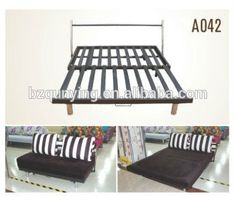 folding sofa bed frame with wooden slata042 buy extra strong sofa bed framemetal slat sofa bed framerecliner sofa bed mechanism frame product on