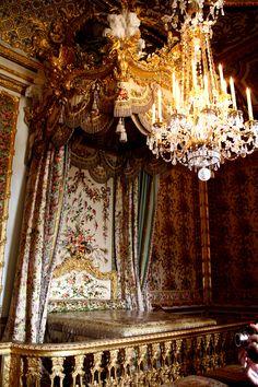 Versailles - royal sleeping chambers.
