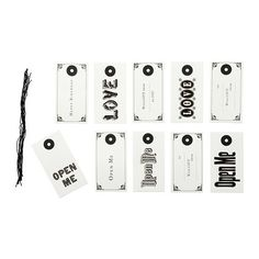IKEA HISTORISK - Gift tags, letters / 10 pack * Click on the image for additional details.