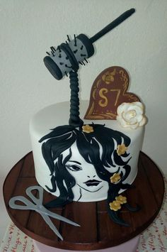 Hairdresser Birthday Cake By Artdolce Design