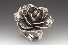 Rose Flower Spoon Ring...this website has plenty of spoon jewelry that you expect and plenty that you don't.