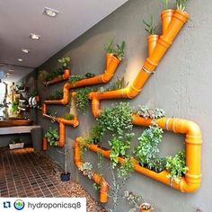 Awesome Vertical Garden Design Ideas - New ideas Hydroponic Grow Systems, Hydroponic Farming, Aquaponics, Indoor Hydroponics, Vertical Garden Design, Backyard Garden Design, Backyard Landscaping, Garden Crafts, Garden Projects