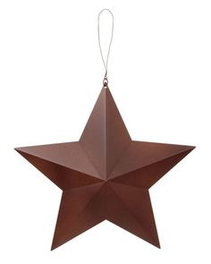 Available in 15, 18, 24, 36, 48 inch sizes - 3D Rustic Metal Stars available @ CountryPorch.com
