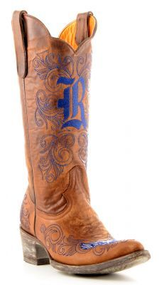 Womens Gameday Boots Rice University Boots Brass (via Allen sutton Boots) Football Bowl Games, Rice University, H Town, Football Season, Dear Santa, Me Too Shoes, Cowboy Boots, Cute Outfits, Brass