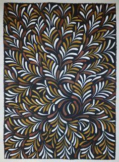Campfire sparks and embers Aboriginal Art Yilamara