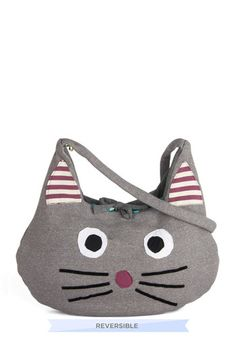 I do not need this bag... I do not need this bag.... but I still want it. -----A Purse to Purr About Bag, #ModCloth