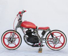 motorcycle meets bicycle...I want this