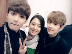 Wookie, Henry and friend